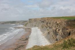 Stratified cliffs