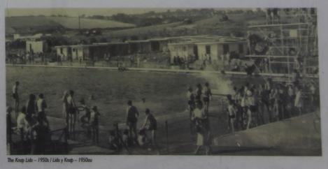 The Knap Lido 1950's