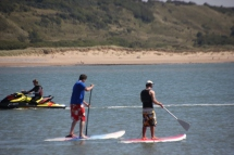 paddle-boarders