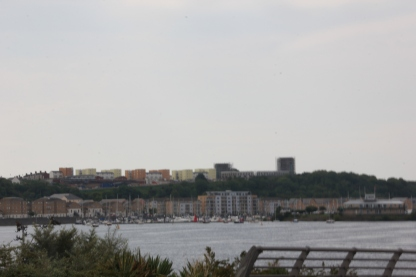 Penarth and marina