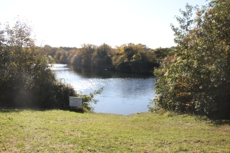 down to lake