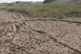 Motorbike tracks