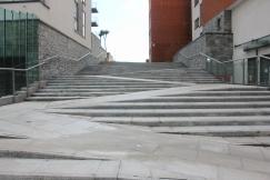 Twisty steps
