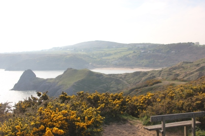 Above Pobbles Bay