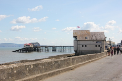 Life-boat stations and pier