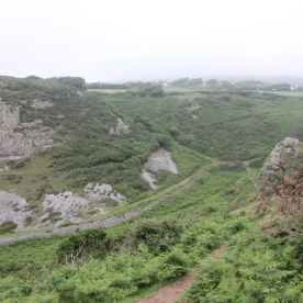 Path down to Mewslade