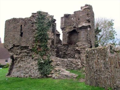 Loughor Castle Ruins