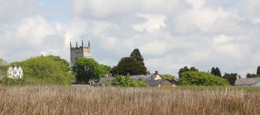 St. Cynwyd's church tower