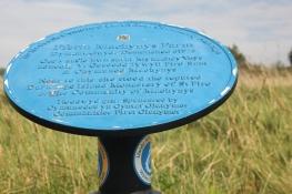 Macynys Farm plaque