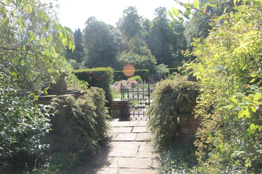 Entrance to Sylvia's Memorial Garden